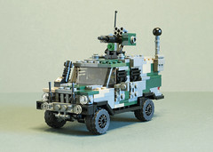Volvo C404 Wolfhound AMPV (Aleksander Stein) Tags: lego military volvo iveco c404 wolfhound ampv armoured multi purpose vehicle light tactical patrol m226 sentry rws ndc