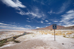 Hot Springs in the Altiplano Photo