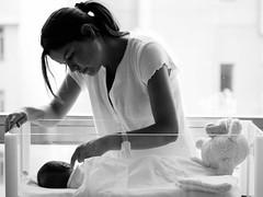 L'attesa  finita - My sister Bruna and my nephew Luca (Isabella Pirastu) Tags: mamma madre clinica maternit neonato