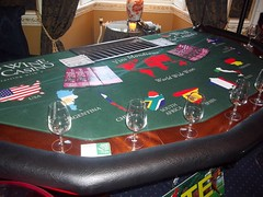 Wine Casino Hire