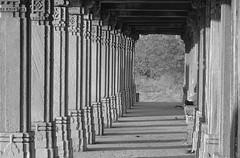Pillared support (jpjoshi) Tags: india canon january powershot pillars roza gujarat ahmedabad 2012 sarkhej