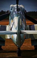 Messerschmitt 109 Buchon.. (mickb6265) Tags: tamron18270vc messerschmitt109buchon duxfordwomeninaviationdisplay2011