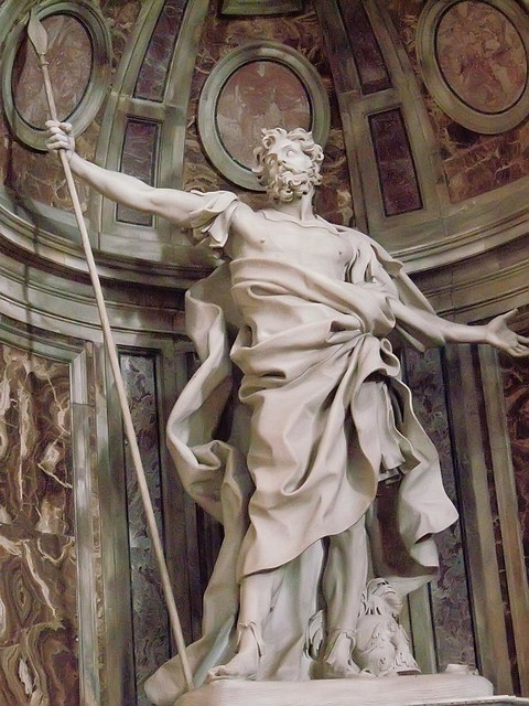 longines roman soldier lance spear sculpture bernini stpeters basilica cathedral church religion christian catholic worship vatican mharrsch