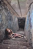 (yyellowbird) Tags: california selfportrait abandoned girl stairs zoo la dungeon cari griffithpark
