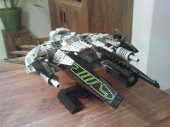 Lego Starfighter (Jeroen_K) Tags: star lego vic spaceship fi wars custom viper sci speeder starfighter
