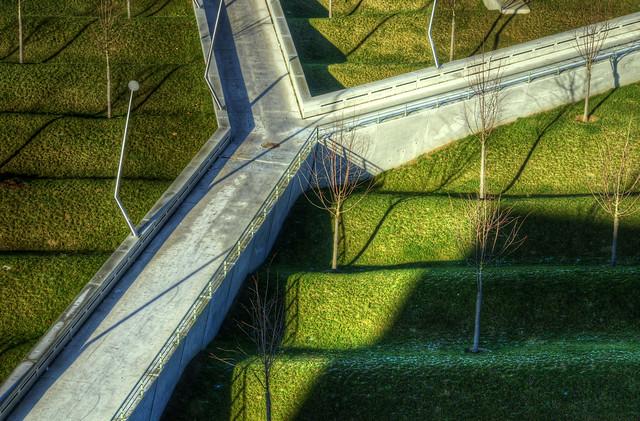 Centre Pompidou, Metz - Garden