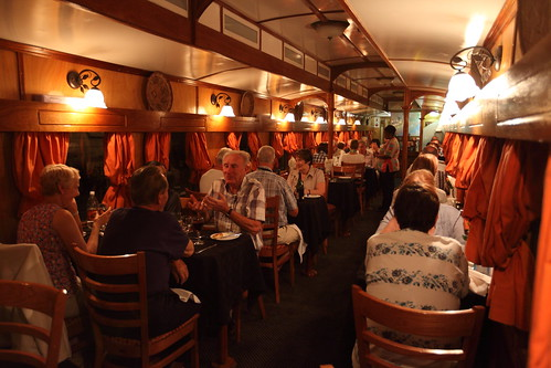 Shongololo Express - dining car / restaurant