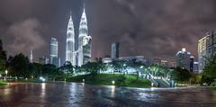KLCC Panorama, Kuala Lumpur, Malaysia (Ezry A Rahman) Tags: canon flickr petronas malaysia twintowers hdr klcc cityskyline petronastwintowers ezry malaysiahdr hdrmalaysia ezryarahman ezrybinabdulrahman ezryabdulrahman ezryarahmanphotograp