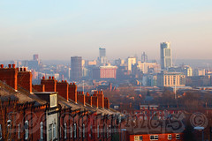 Leeds at Sunrise (Lee Collings Photography) Tags: skyline rooftops yorkshire leeds k2 parkplaza upgrade citycentre chimneys westyorkshire crowded outdated modernisation oldandnew oldnew terraced tallbuildings parkplazahotel opal3 broadcastingtower terracedhousing terracedhouses bridgewaterplace updating skyplaza modernising candlehouse leedstallbuildings tallbuildingsinleeds leedsatdawn leedstallestbuildings leedsatsunrise leedsearlymorning tallestbuildingsinleeds updgrading