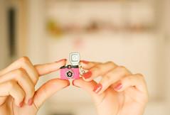 mr. pink ♥ (Natália Viana) Tags: pink lomo lomography mrpink chaveiro lomografia natáliaviana minidiana