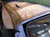 Jaguar XJS Verdeckbezug Wundertüte geöffnet