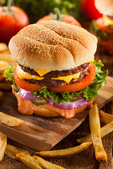 Beef Cheese Hamburger with Lettuce Tomato (brent.hofacker) Tags: food classic cheese tomato bread juicy big beef burger fat sesame fastfood tasty bbq vegetable frenchfries sandwich fresh meat gourmet delicious lettuce cheeseburger american steak barbecue hamburger meal junkfood onion grilled patty cheddar bun unhealthy roasted groundbeef animalstyle quarterpounder