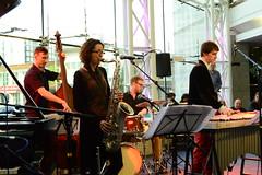 Ivo Neame Quintet. Symphony Hall, Jazzlines. 11th April 2014. DSC_7948 (Imagine Bill) Tags: birmingham jimhart birminghamjazz tomfarmer davehamblett torifreestone jazzlines ivoneamequintet
