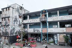 woodstock photowalk103 (WITHIN the FRAME Photography(4 Million views tha) Tags: city windows architecture graffiti fuji capetown balconies historical xt1