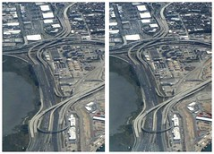 The Maze (twoeyes2010) Tags: 3d aerialphotograph stereophotograph crossview