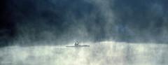 Morning exercise. (Papa Razzi1) Tags: morning mist fog 2015 seakayaks morningexercise 7222