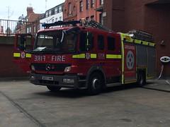 LFB Soho Pump Ladder (slinkierbus268) Tags: london fire mercedes soho central pump fireengine ladder firestation brigade atego fireappliance lfb