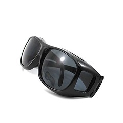Unisex HD Night Driving Glasses Vision Care Eyes Protect Wrap Around Sunglasses Black (discoverdoctor) Tags: black sunglasses night glasses eyes driving wrap vision around care unisex protect