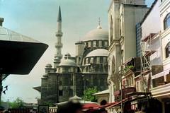 Her gnk (//sarah) Tags: film turkey turkiye istanbul mosque ottoman cami fatih grandbazaar beyazt kapalar bayezid minoltasrt100 beyaztcamii bykar