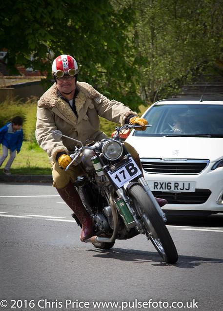 Fleet Lions Bike Rally 2016 5 x 7 Vignette