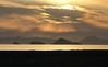 Sunset from Karataş with some of the 12 islands (VillaRhapsody) Tags: sunset sea beach yellow clouds turkey islands mediterranean fethiye challengeyouwinner