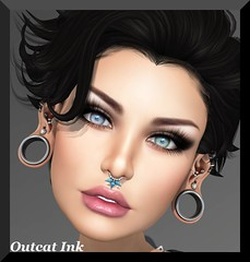 Post #581 (Outcast INK) Tags: mandala catwa glitteratiposes insufferabledastard wowskins realevilindustries justmagnetized kccouture truthhairapparel