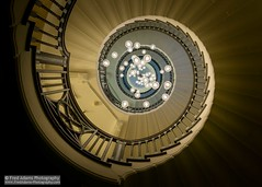 The Brewer Staircase (Fred-Adams) Tags: lighting london architecture spiral design interior chandelier interiordesign spiralstaircase artinstallation lampshades heals healsdepartmentstore feb2016 fredadamsphotography fredfredadamsphotographycom wwwfredadamsphotographycom