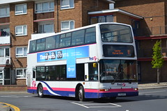 First Eastern Counties 32214 LT52WTX (Will Swain) Tags: great yarmouth 14th may 2016 bus buses transport travel uk britain vehicle vehicles county country england english norfolk south east town first eastern counties 32214 lt52wtx london