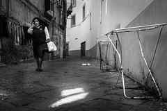 security #2 (MarioMancuso) Tags: life street urban bw italy white black monochrome photography mono italian italia streetphotography documentary mario scene bn naples fujifilm reportage photogrphy mancuso