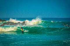 A beautiful point break at Playa Punta.