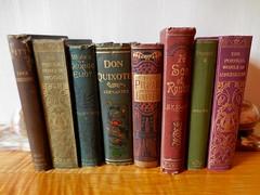 DSCN0501 (clare.mcm) Tags: old england london vintage kent books bookshelf artdeco donquixote cervantes edwardian elthampalace eltham georgeeliot vintagebooks vintagebookshelf