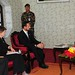 UNDP Administrator Helen Clark and Goodwill Ambassador Crown Prince Haakon of Norway meet with President Ram Baran Yadav