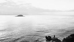 Be a simple kind of man (J. Tiogran) Tags: sea blackandwhite man blancoynegro silhouette island mar nikon sigma altea silueta isla hombre julin d500 solana serrano sigma1020 julinsolana 1020mmf456hsmdcex
