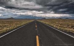 PS CS6 HDR Test Image (Matt Granz Photography) Tags: road arizona weather wall clouds photoshop paper photography utah vanishingpoint nikon desert post tokina card valley monsoon monuments 1224mm hdr buttes d90 mattgranz