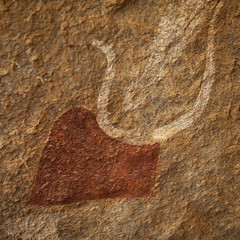Laas Geel rock art  - Somaliland (Eric Lafforgue) Tags: africa color archaeology animals horizontal french outdoors graffiti cow photo exterior interior patterns indoors photograph grotto afrika cave somali endangered ochre prehistoric fresco humanbeing rockart somalia preservation neolithic somaliland brownish afrique artsandcrafts hornofafrica redish muralpainting lasgeel archaeologists 3726 somalie britishsomaliland somali wellconserved  laasgeel  szomlia   soomaaliland