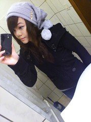 Winter Feeling~  Haine Vn (Haine Van  Ulzzang &' Feizl) Tags: winter cute girl grey feeling van beanie haine ulzzang feizl sonyericssonxperiaray