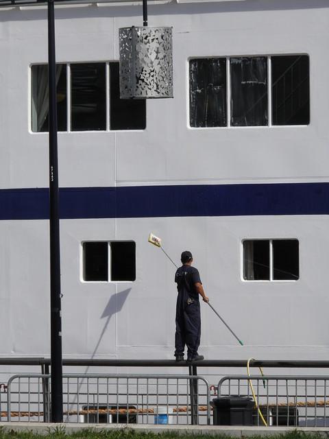 Lavage de vitre - Bordeaux - P9150105