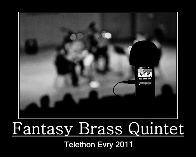 Evry Daily Photo - TELETHON Evry 2011 - Concert Fantasy Brass Quintet 6