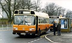 NHB892M - Maypole 1988 (Walsall1955) Tags: bus birmingham merthyrtydfil maypole leylandnational 50y yourbus smithscoaches nhb892m smithsshennington