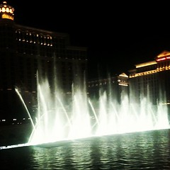 Found the fountains at the Bellagio!