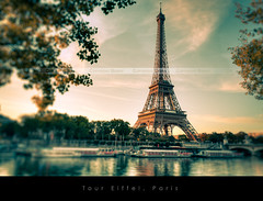 Tour Eiffel, Paris (Beboy_photographies) Tags: paris france sunrise canon soleil tour mark eiffel ii 5d lever matin