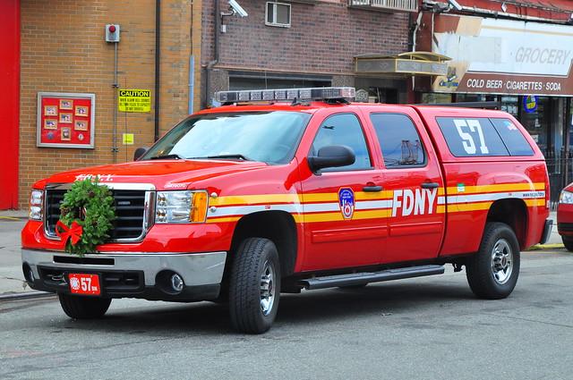 nyc newyorkcity ny newyork brooklyn gm chief pickup pickuptruck sierra firetruck prospectheights odyssey gmc 2500 kingscounty 2500hd newyorkcityfiredepartment battalion57