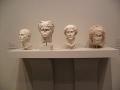 XXX. (Excellence Has No Sex) Tags: art monochrome statue museum ancient san texas heads antonio sama