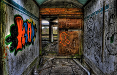 room3 (David Andrew Murray) Tags: morning friends color colour building art fall abandoned photoshop fun graffiti scotland big amazing cool scary nikon mess december afternoon god drink budget tripod jesus poor large adventure drugs spraypaint christianity monday deserted christians hdr dayout notfinished golfclub newart chirst failing 2011 landscapeportrait cs5 notcompleted d7000 bracheting pictomatix roomsstpeters pleasurescene goalnotmet