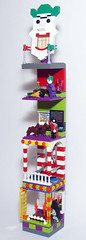The Joker's Funhouse - Right side (Oky - Space Ranger) Tags: park carnival house robin fun amusement lego super harley laugh batman joker heroes hyena quin hideout