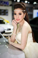IMG_6811 (tony8888) Tags: show sexy beautiful car race pose thailand costume model expo bangkok queen thong impact thai motor thani muang