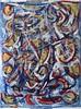 cut the shape (divedintopaint) Tags: ferrara astratto quadri espressionismo dived informale neoprimitivismo