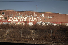 ynot (rip) (Into Space!) Tags: art window train relax graffiti newjersey dean nj amtrak nate roller roll graff bombing ynot intospace ynotse