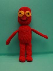 puchatek1 (epka handmade) Tags: crochettoy crochetdolls recyclingtoy recyclingdolls szydełkowazabawka szydełkowalaleczka