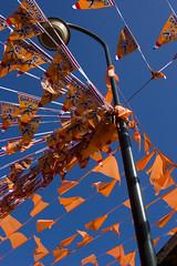 Monnickendam is Oranje (Ingvildm) Tags: wk voetbal oranje 2010 waterland monnickendam wk2010